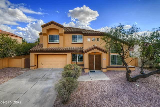 3321 W Pepperwood Loop, Tucson, AZ 85742 (#22101899) :: Long Realty - The Vallee Gold Team