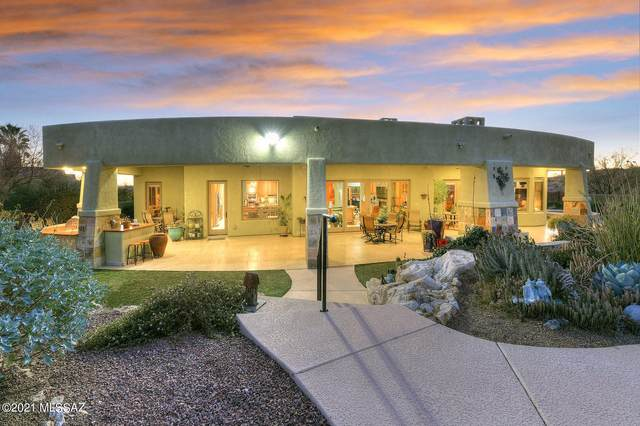4055 N Caliente Canyon Place, Tucson, AZ 85749 (MLS #22102013) :: My Home Group