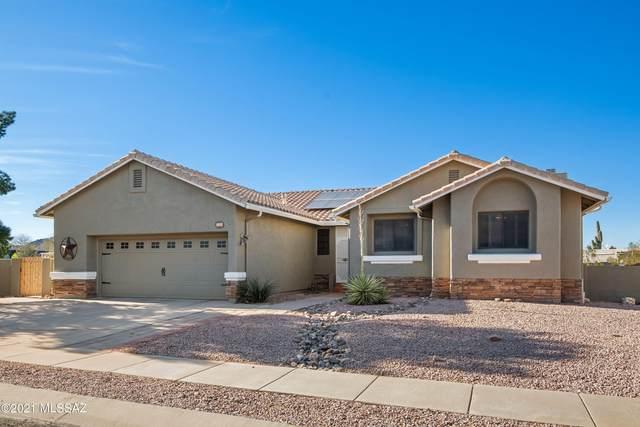 9047 N Sanguine Drive, Tucson, AZ 85743 (#22103592) :: Kino Abrams brokered by Tierra Antigua Realty
