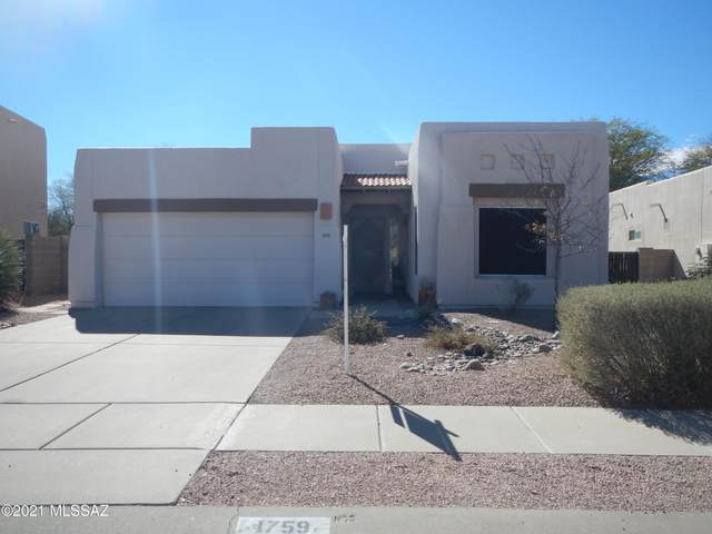 1759 N Wild Hyacinth Drive, Tucson, AZ 85715 (#22103694) :: Long Realty - The Vallee Gold Team