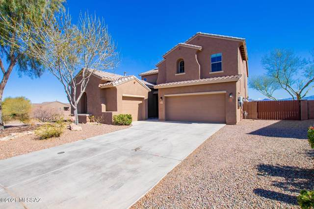 12896 N White Fence Way, Marana, AZ 85653 (#22104383) :: Gateway Realty International