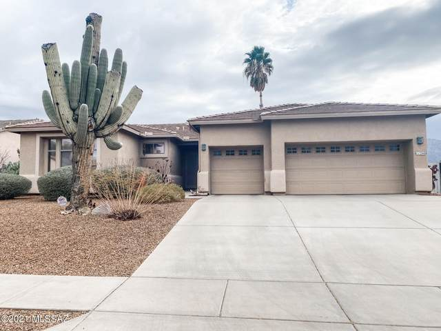 11246 Mountain Breeze Drive, Oro Valley, AZ 85737 (#22104489) :: Long Realty - The Vallee Gold Team