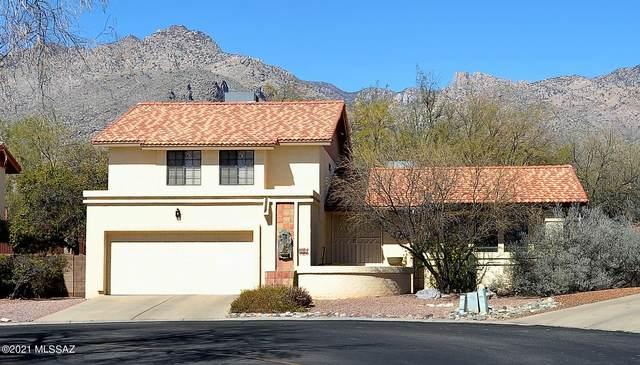 5718 N Via Umbrosa, Tucson, AZ 85750 (#22104744) :: Long Realty - The Vallee Gold Team