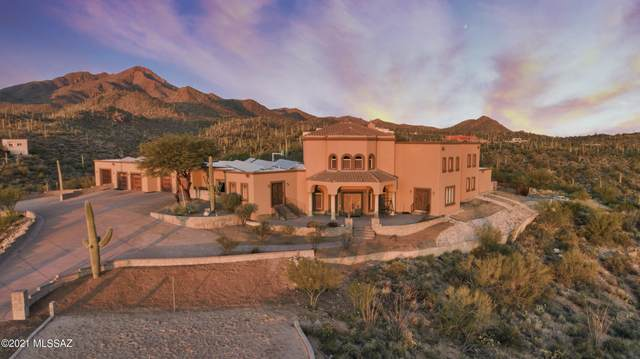 3905 N Ave Dos Vistas, Tucson, AZ 85745 (#22104836) :: Long Realty - The Vallee Gold Team