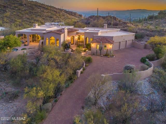 7470 N Secret Canyon Drive, Tucson, AZ 85718 (#22105169) :: Keller Williams