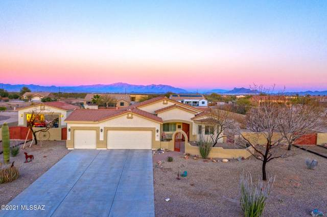 10256 N Avra Vista Drive, Marana, AZ 85653 (#22105236) :: Tucson Property Executives