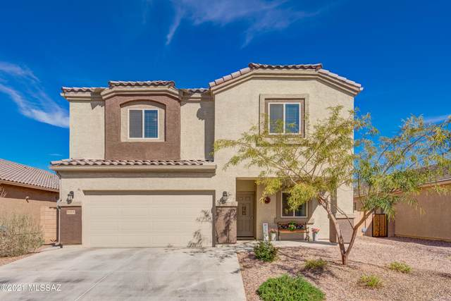 9154 Blue Saguaro Street, Marana, AZ 85653 (#22105310) :: Tucson Property Executives