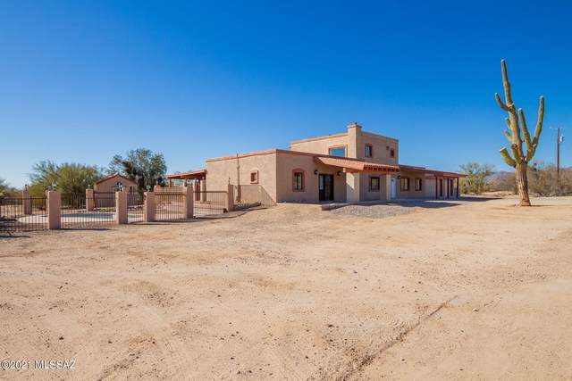 10945 N Oldfather Drive, Tucson, AZ 85742 (#22105499) :: Kino Abrams brokered by Tierra Antigua Realty