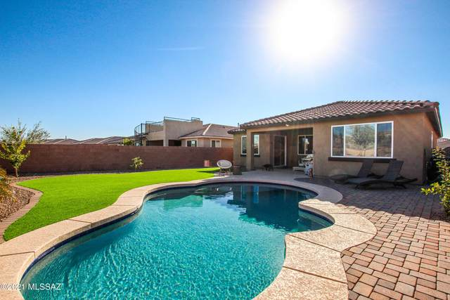 14140 N Silverleaf Lane, Marana, AZ 85658 (#22105735) :: Long Realty - The Vallee Gold Team