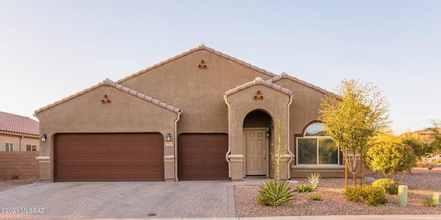 8964 W Hidden Saguaro Trail, Marana, AZ 85653 (#22105865) :: Long Realty - The Vallee Gold Team