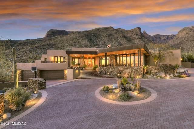 7598 N Secret Canyon Drive, Tucson, AZ 85718 (#22107046) :: Gateway Partners International