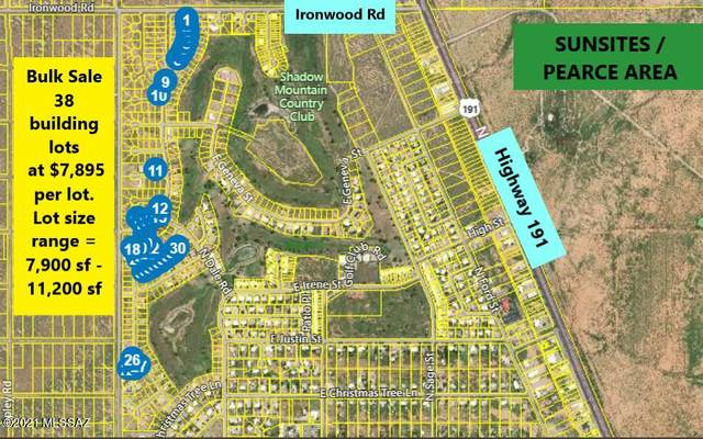 38 Lots in Sunsites Village -, Pearce, AZ 85625 (MLS #22107635) :: The Property Partners at eXp Realty