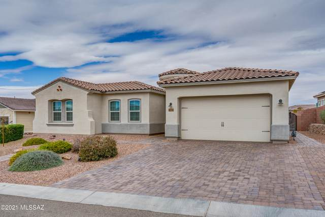 14187 N Hidden Arroyo Pass, Marana, AZ 85658 (#22107889) :: Tucson Real Estate Group