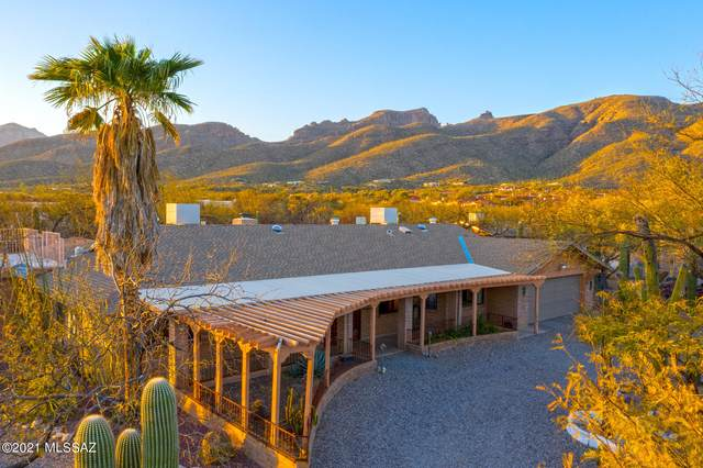 4921 N Auburn Lane, Tucson, AZ 85749 (#22108134) :: Long Realty - The Vallee Gold Team