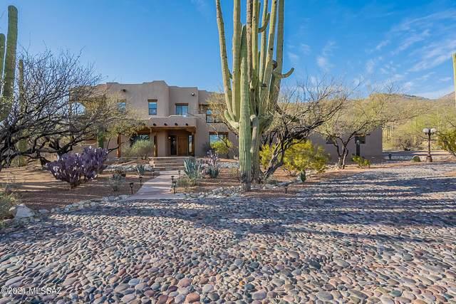 4945 N Avenida De Suzenu, Tucson, AZ 85749 (MLS #22108321) :: The Property Partners at eXp Realty