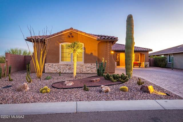 7315 Secret Bluff Ps Pass W, Marana, AZ 85658 (#22108383) :: Tucson Real Estate Group