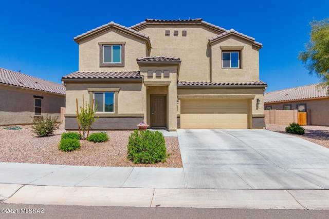 9072 W Blue Saguaro Street, Marana, AZ 85653 (#22108948) :: Tucson Real Estate Group