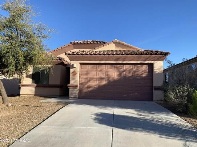 1565 Cottonwood Bluffs Drive, Benson, AZ 85602 (MLS #22109209) :: My Home Group