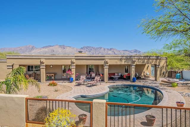 4401 N Avenida Del Cazador, Tucson, AZ 85718 (MLS #22109305) :: My Home Group