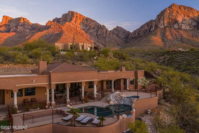 10201 N Cliff Dweller Place, Oro Valley, AZ 85737 (#22109487) :: Keller Williams