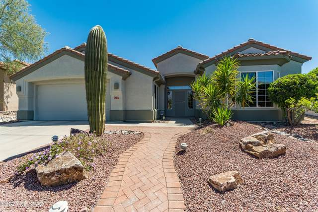 5101 W Thistlepoppy Loop, Marana, AZ 85658 (#22109564) :: Keller Williams