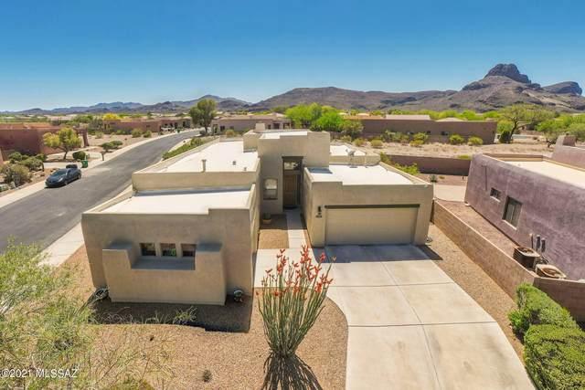 7435 W Smoke Signal Drive, Tucson, AZ 85743 (#22109753) :: Keller Williams