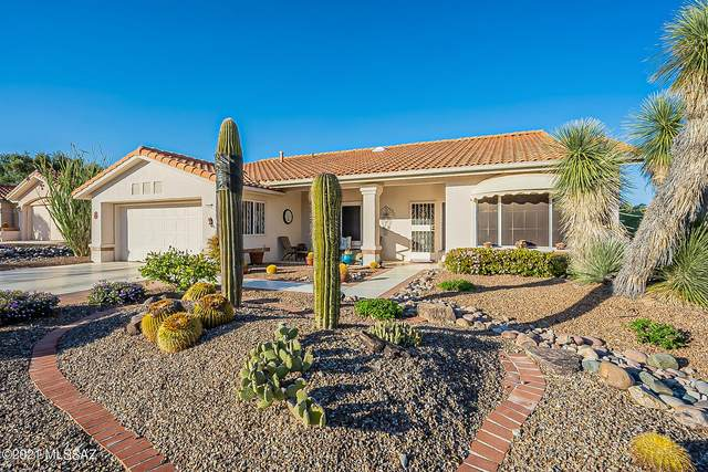14644 N Spanish Garden Lane, Oro Valley, AZ 85755 (#22109761) :: Luxury Group - Realty Executives Arizona Properties