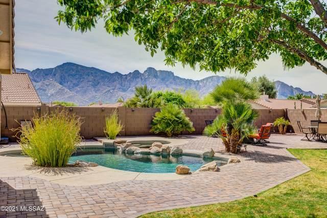 2388 E Spring Pioneer Lane, Oro Valley, AZ 85755 (#22109864) :: Kino Abrams brokered by Tierra Antigua Realty