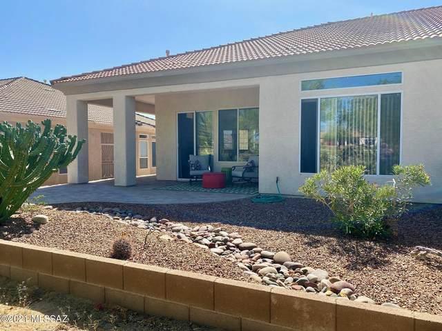 13118 N Desert Flora Lane, Marana, AZ 85658 (#22110259) :: Tucson Property Executives