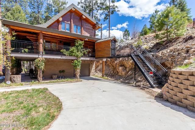 11180 E Carter Canyon Road E, Mt. Lemmon, AZ 85619 (#22110419) :: Kino Abrams brokered by Tierra Antigua Realty
