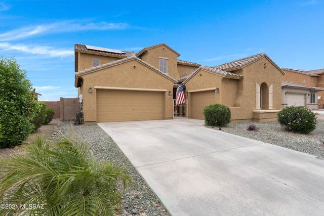 12860 N White Fence Way, Marana, AZ 85653 (MLS #22110997) :: The Property Partners at eXp Realty