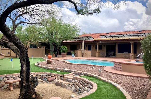2201 N Powder Horn Drive, Tucson, AZ 85749 (#22111115) :: Long Realty - The Vallee Gold Team