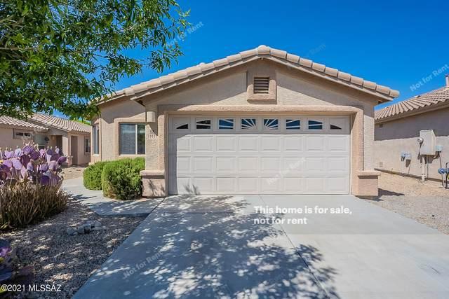 12427 N Floating Feather Lane, Marana, AZ 85658 (#22112349) :: Tucson Real Estate Group