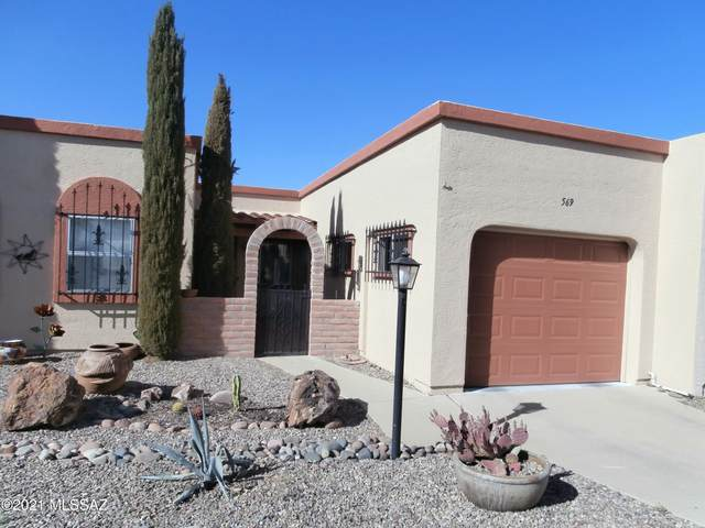 569 W Ocotillo Place, Green Valley, AZ 85614 (#22112399) :: Tucson Real Estate Group