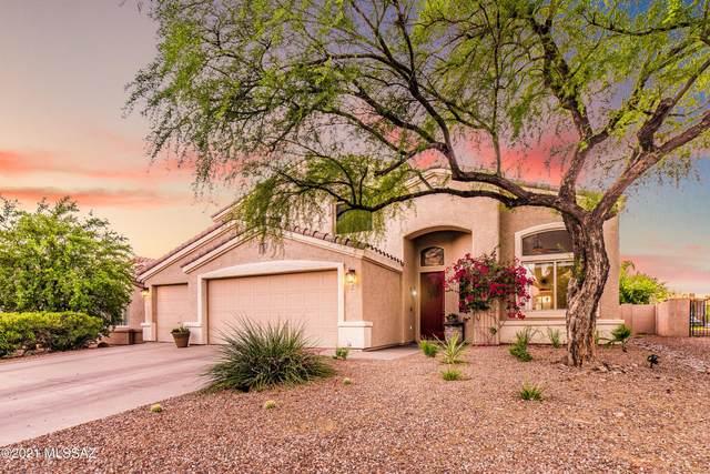 384 W Sacaton Canyon Drive, Oro Valley, AZ 85755 (#22112459) :: AZ Power Team