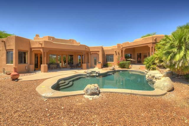3756 N Calle Entrada, Tucson, AZ 85749 (#22112614) :: Gateway Realty International