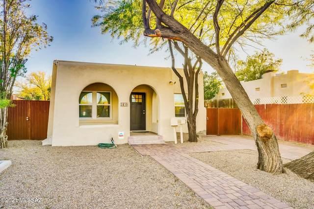 2416 E Drachman Street, Tucson, AZ 85719 (#22113007) :: Long Realty - The Vallee Gold Team