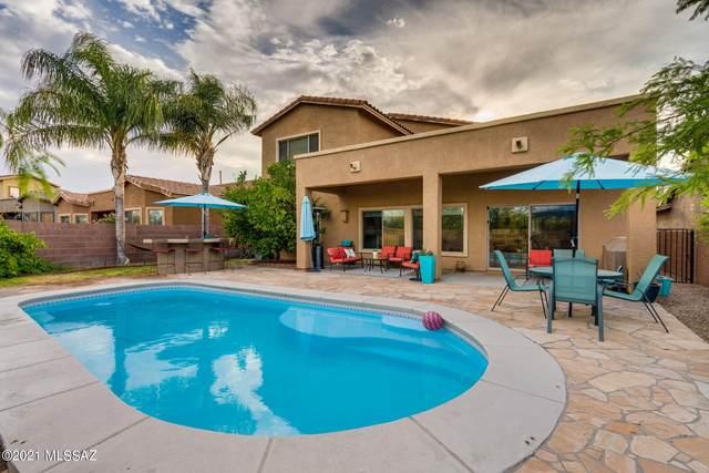 8286 N Amber Burst Drive, Tucson, AZ 85743 (#22113881) :: Kino Abrams brokered by Tierra Antigua Realty