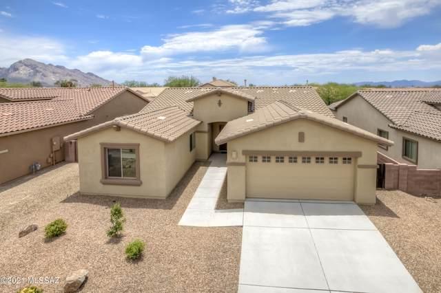 1443 W Red Creek Drive, Oro Valley, AZ 85737 (#22114489) :: Kino Abrams brokered by Tierra Antigua Realty