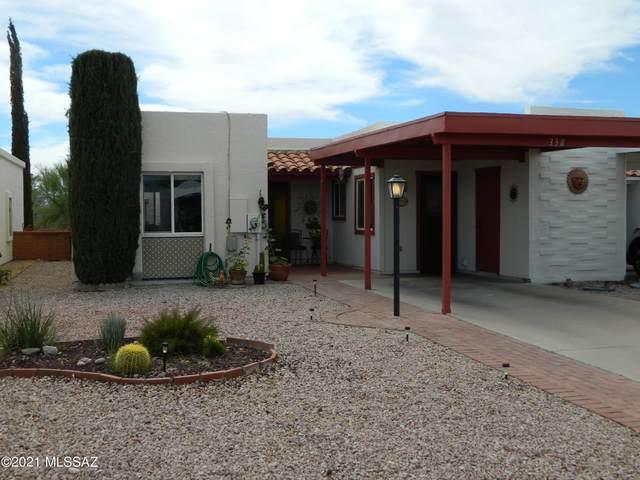 338 N Calle Del Chancero, Green Valley, AZ 85614 (#22114810) :: The Dream Team AZ