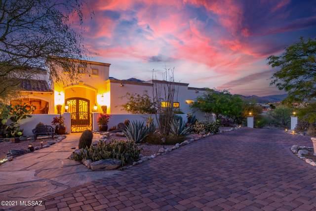 5821 N Camino Del Mar, Tucson, AZ 85718 (#22114902) :: Kino Abrams brokered by Tierra Antigua Realty