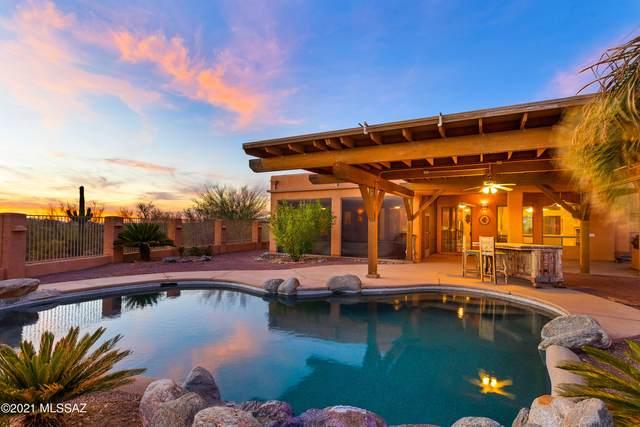 6837 N Bobcat Ridge Trail, Tucson, AZ 85743 (#22115171) :: Gateway Partners International
