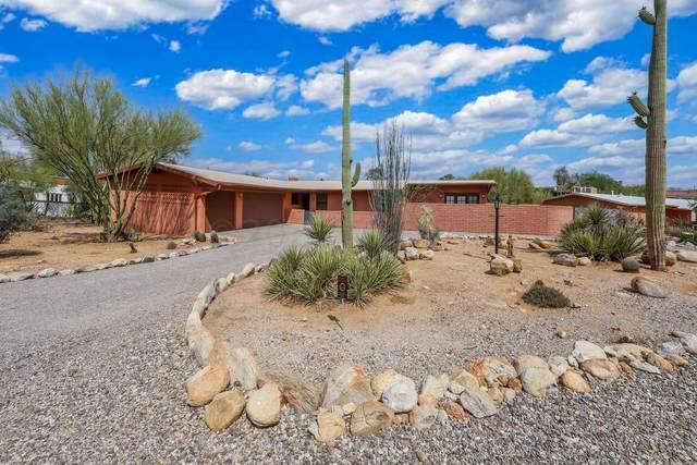 835 E Camino De Fray Marcos, Tucson, AZ 85718 (#22115610) :: Keller Williams