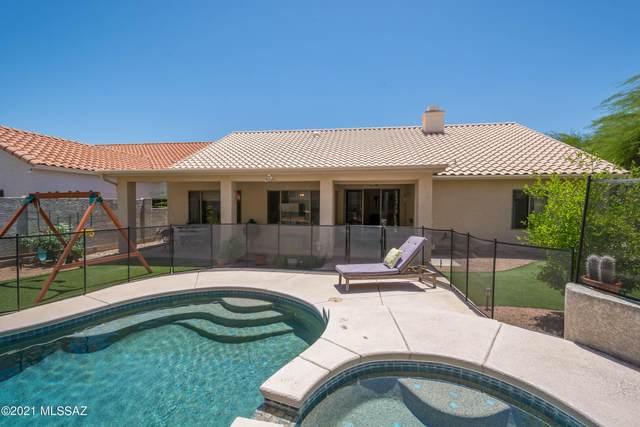 7673 E Camino Amistoso, Tucson, AZ 85750 (#22115782) :: Keller Williams