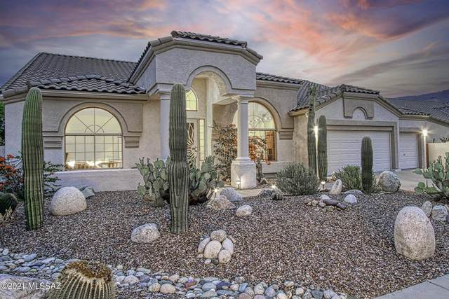 12934 N Whitlock Canyon Drive, Oro Valley, AZ 85755 (#22116420) :: Kino Abrams brokered by Tierra Antigua Realty