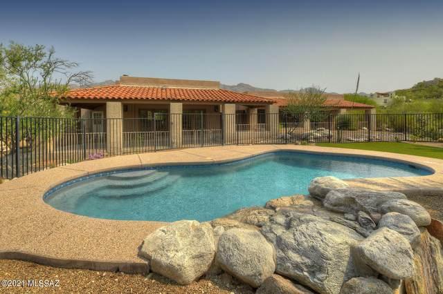 6414 E Via Amable, Tucson, AZ 85750 (#22118327) :: Kino Abrams brokered by Tierra Antigua Realty