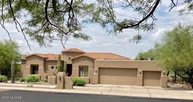 5105 N Coronado Vistas Place, Tucson, AZ 85749 (#22118436) :: The Local Real Estate Group | Realty Executives