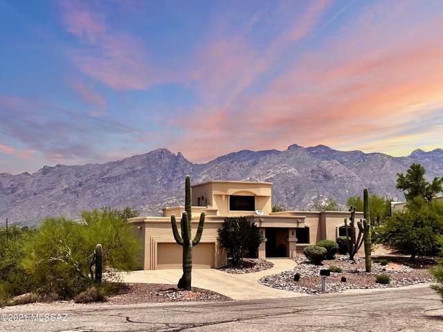 4364 E Cerrado Del Cazador, Tucson, AZ 85718 (#22118455) :: Long Realty - The Vallee Gold Team