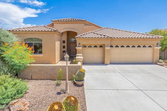 12876 N Bass Canyon Drive, Marana, AZ 85658 (#22118724) :: Long Realty Company