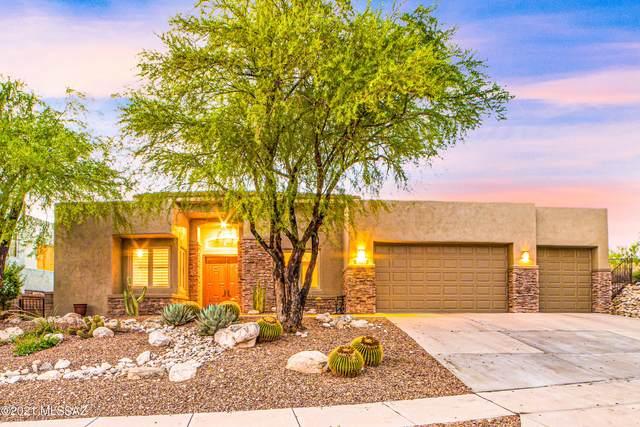 7461 E Ridge Point Road, Tucson, AZ 85750 (#22118964) :: Tucson Real Estate Group